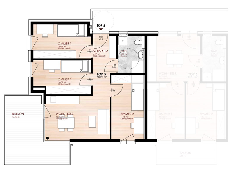 mietwohnung innsbruck h ttinger au. Black Bedroom Furniture Sets. Home Design Ideas